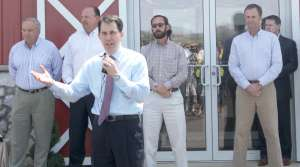 Read full article: Walker Pays First-Ever Visit To A Frac Sand Mine