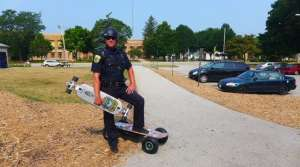 Read full article: Green Bay's Skateboarding Officer Opens Routes Into Community, City's Trails