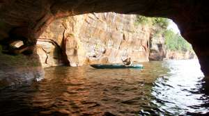 Read full article: Ice Caves Cause Surge In Summer Business At Apostle Islands