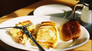 Diner breakfast plate