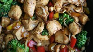 Read full article: Thai Chicken & Cashew Stir Fry