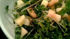 Read full article: Chicken Kale Salad With Apples & Cheddar