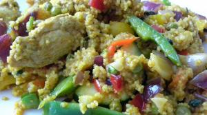 Read full article: Moroccan Chicken & Couscous