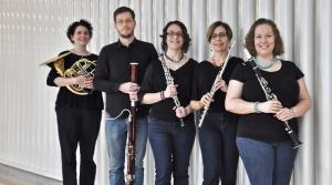 Photo of the Black Marigold Wind Quintet