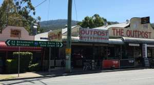 Road sign near Brisbane, AU - Photo by Allen Rieland