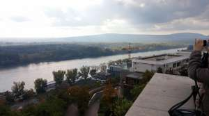 Photo of the Danube River from the Bratislava Castle