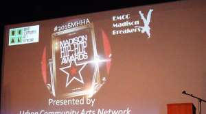 At the Madison Hip-Hop Awards