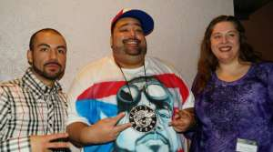 "Pacal ""DJ Pain 1"" Bayley, ShaH Evans, Karen Reece of the Madison Hip-Hop Awards"