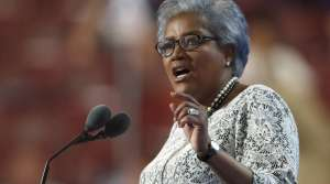 Donna Brazile speaks at the Democratic National Convention
