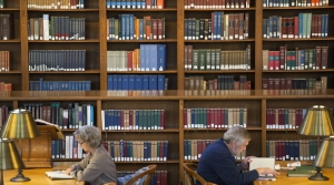 Reading, library, New York