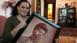 Michelle Duster, great-granddaughter of civil rights pioneer Ida B. Wells