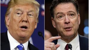 President Trump - James Comey