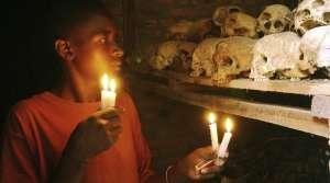 A survivor from the 1994 Rwandan Genocide