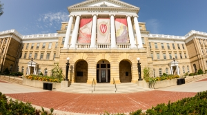 Bascom Hall on the University of Wisconsin-Madison campus