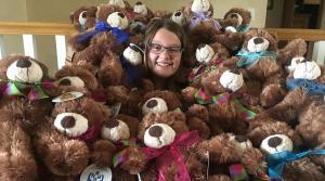 Lia Haile, Hope House, teddy bears
