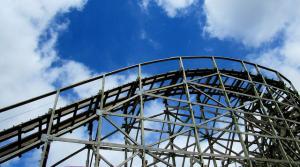 Bay Beach roller coaster