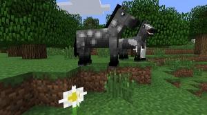A scenario in the Minecraft video game