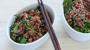 Read full article: Sesame Beef Bowls