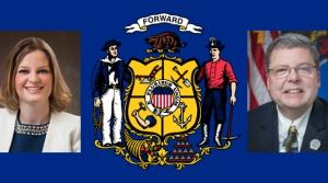 State Reps. Katrina Shankland and Patrick Snyder