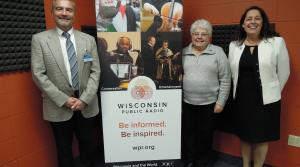 Phillip Nielsen, Sister Marlene Weisenbeck and State Rep. Jill Billings