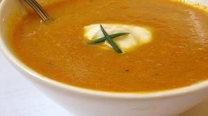 Read full article: Creamy Carrot and Leek Soup