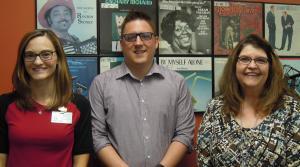 Cindy Solis, Nick Ragner and Lyn Halverson