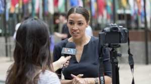 Alexandria Ocasio Cortez WomePolitics Political Campaign Office Elected