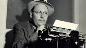 Photo of Carlton Morse from the radio program Adventures by Morse