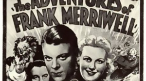 Promotional illustration for the radio program The Adventures of Frank Merriwell