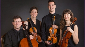 Photo of the Ancora String Quartet