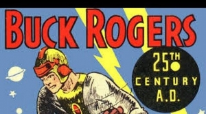 Illustration for radio program Buck Rodgers
