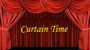 graphic for the radio program Curtain Time