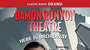 Illustration for the radio program Damon Runyon Theater