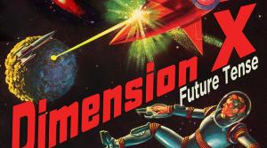 Promotional image for the radio program Dimension X