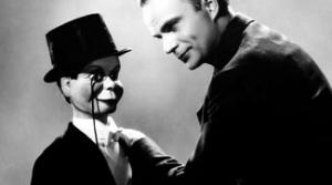 Photo of Edgar Bergen and Charlie McCarthy