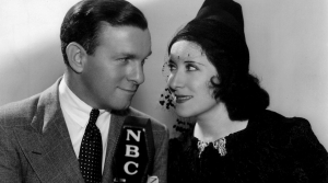 Photo of George Burns and Gracie Allen