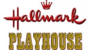 Logo for the radio program Hallmark Playhouse