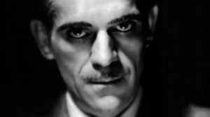 Photo of radio actor Boris Karloff