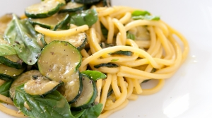 Read full article: Lemony Zucchini Pasta