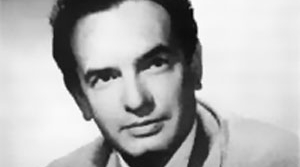 Photo of radio actor Elliot Lewis