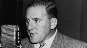 Photo of actor William Bendix, star of Life of Riley
