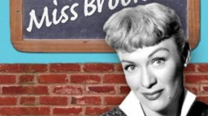 Promotional image for radio program Our Miss Brooks