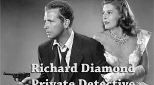 Image from Richard Diamond radio program