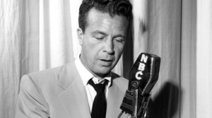 Photo of Dick Powell, star of Rogues Gallery