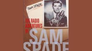 Sam Spade radio program ad