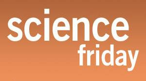 Logo for Science Friday radio program
