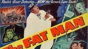Illustration for The Fat Man radio program