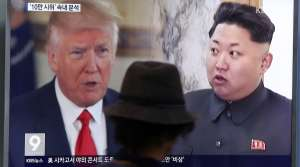 President Donald Trump and North Korean leader Kim Jong Un