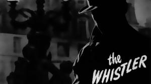 Promotional Illustration for the radio program The Whistler