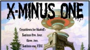 Promotional image for radio program X-Minus One